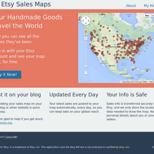 Sales Map